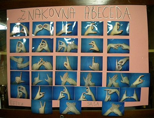 Dvoručna znakovna abeceda