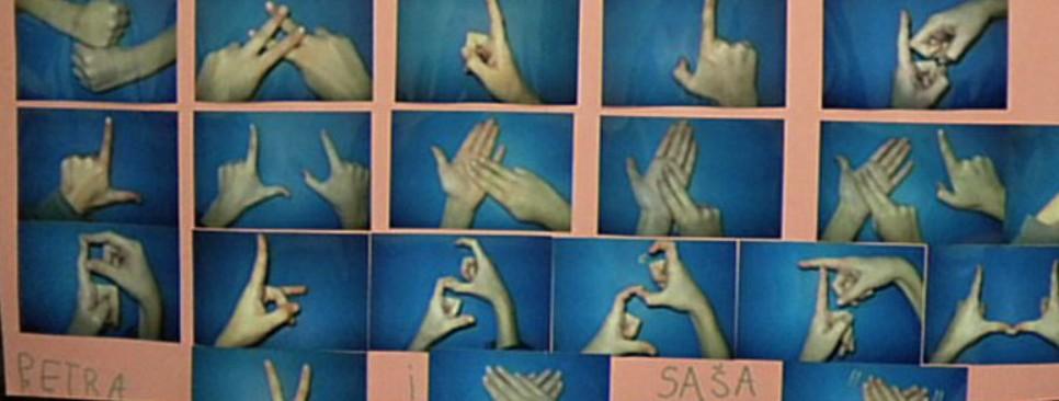 znakovna abeceda